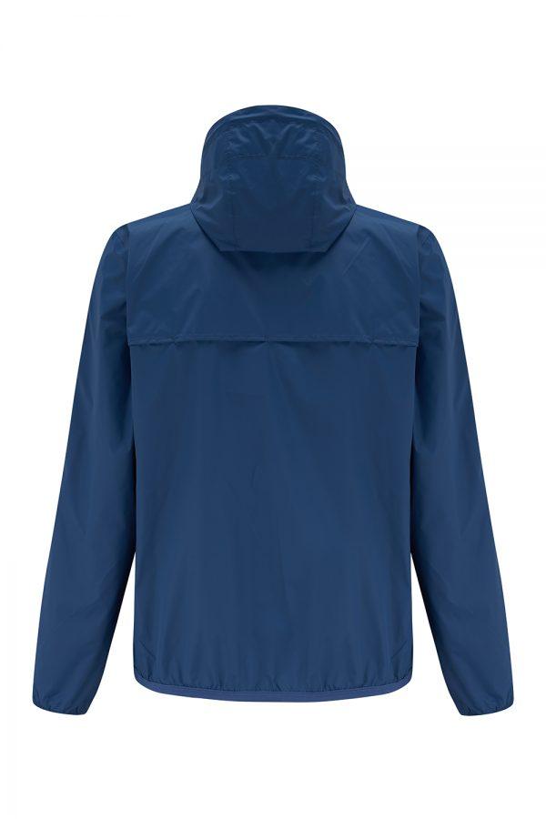 K-Way Le Vrai Claude 3.0 Men's Waterproof Jacket Blue - New SS21 Collection
