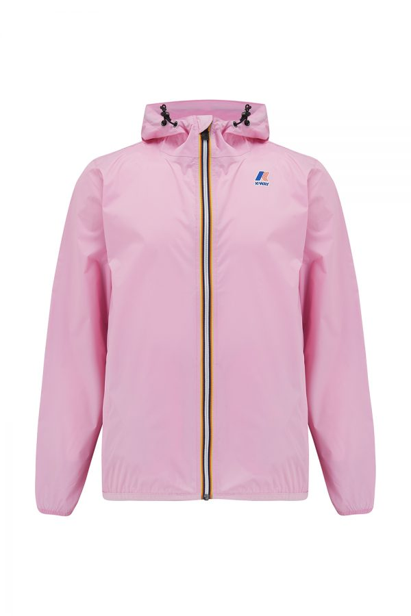 K-Way Le Vrai Claude 3.0 Men's Technical Nylon Jacket Pink - New SS21 Collection