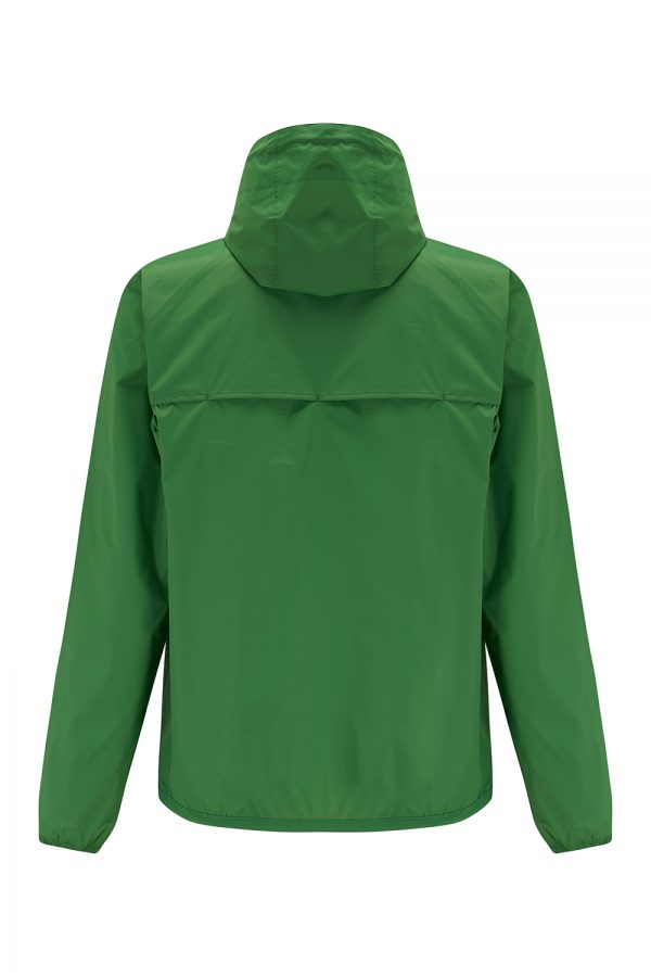 K-Way Le Vrai Claude 3.0 Men's Short Nylon Jacket Green - New SS21 Collection