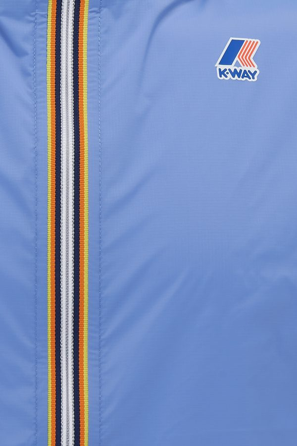 K-Way Le Vrai Claude 3.0 Men's Anorak Jacket Blue - New SS21 Collection