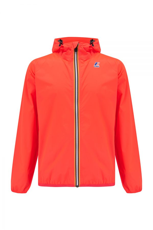 K-Way Le Vrai Claude 3.0 Men's Packable Rain Jacket Red - New SS21 Collection