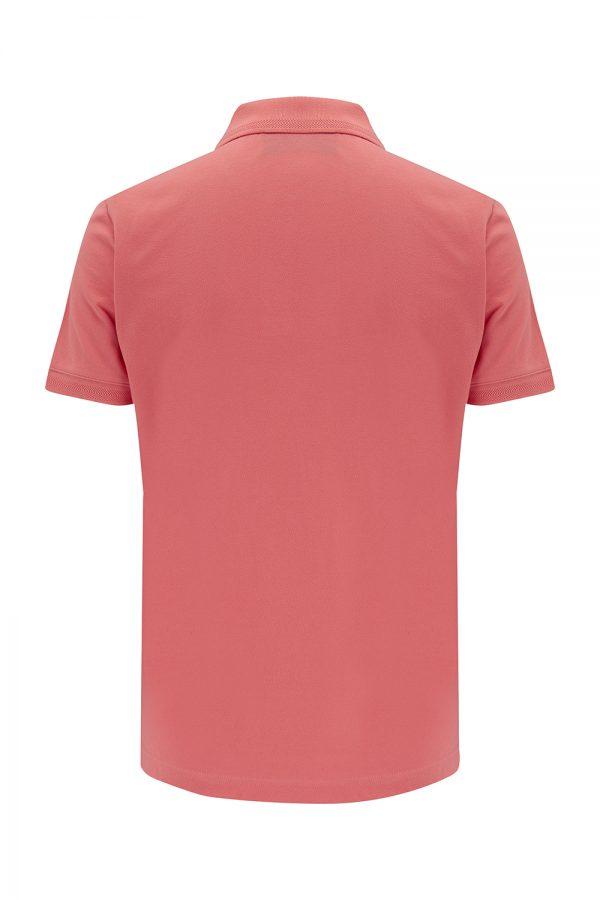 Belstaff Men's Cotton Piqué Polo Shirt Pink - New SS21 Collection
