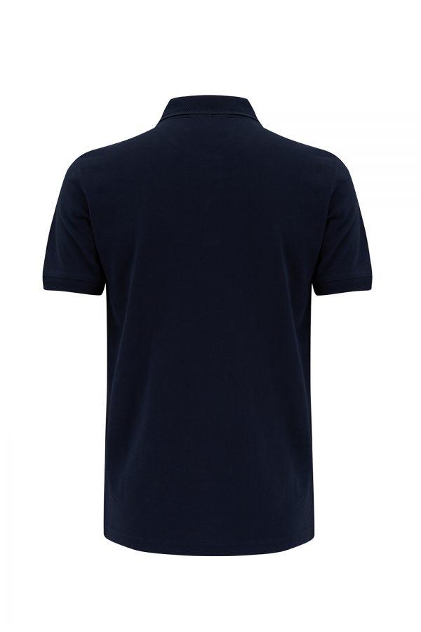 Belstaff Men's 2-button Polo Shirt Ink Blue - New SS21 Collection
