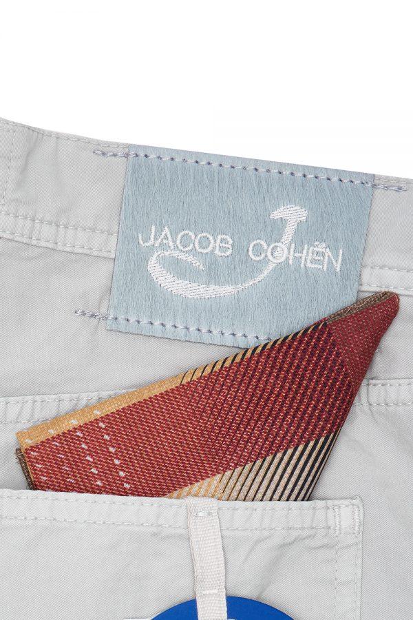Jacob Cohën J6636 Men's Smart Chino Shorts Grey - New SS21 Collection