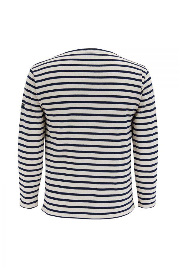 Saint James Guildo R A Men's Breton Stripe Top White/Navy - New SS21 Collection