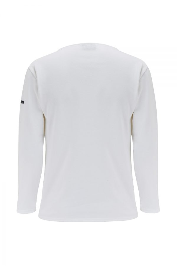 Saint James Guildo R A Men's Long-sleeved T-shirt White - New SS21 Collection