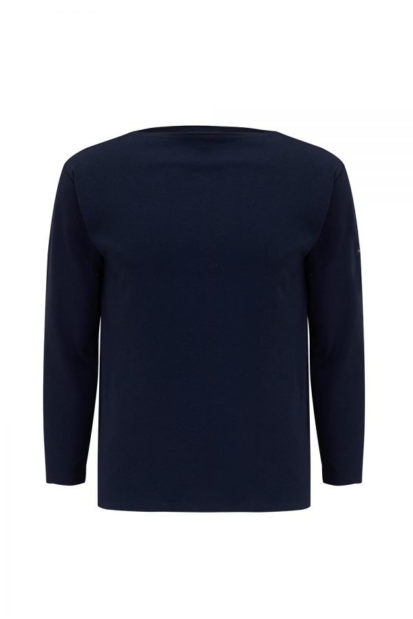 Saint James Guildo R A Men's Long-sleeved Top Navy - New SS21 Collection