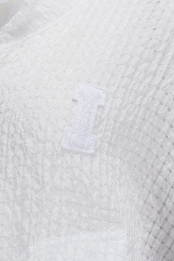 Iceberg Women's Broderie Anglaise Demi-sheer Jacket White - New SS21 Collection