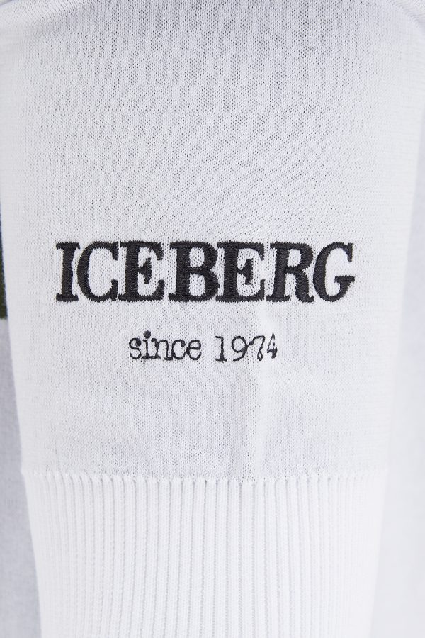 Iceberg Men's Michelangelo Graphic Hoodie White - New SS21 Collection