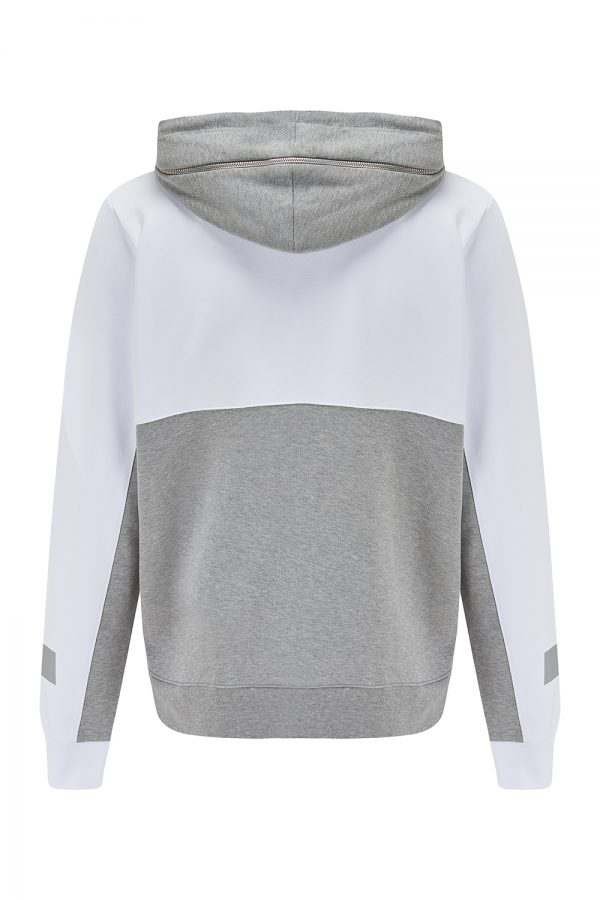 Iceberg Men's Colour Block Hooded Sweatshirt White - New SS21 Collection