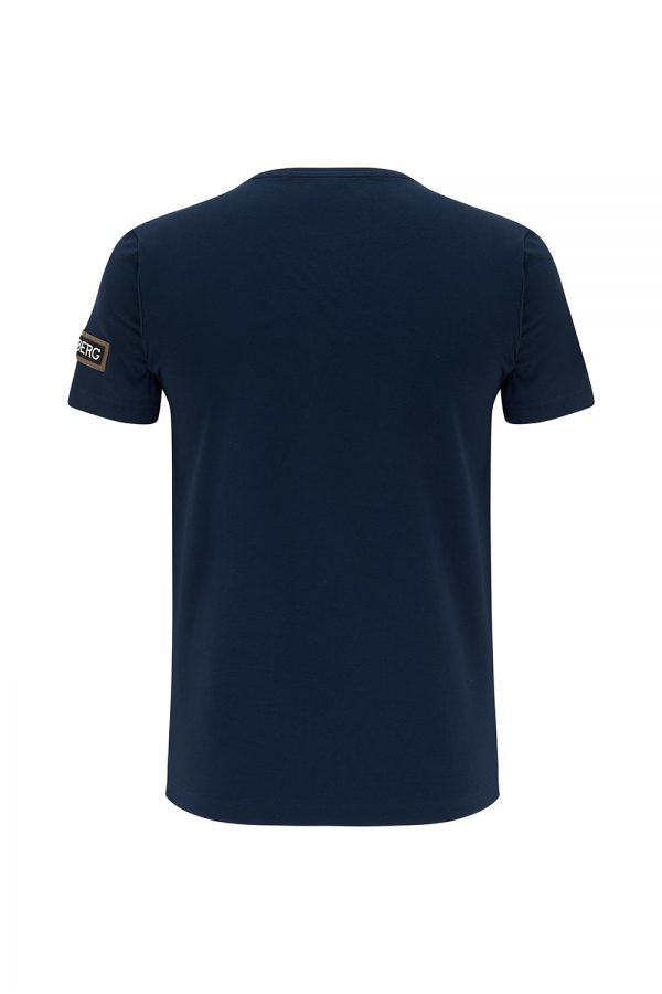 Iceberg Men's Michelangelo Graphic Print T-shirt Navy - New SS21 Collection