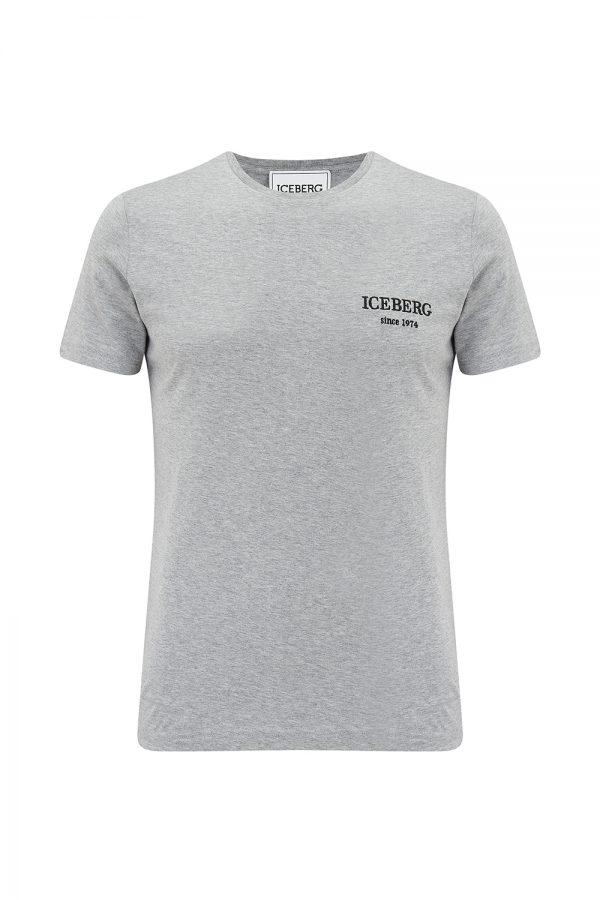 Iceberg Men's Mickey Back Print T-shirt Grey - New SS21 Collection