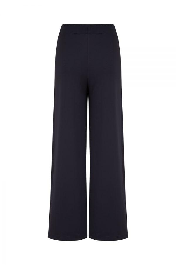 Saint James Tignes Women's High-rise Wide Pants Navy - New SS21 Collection