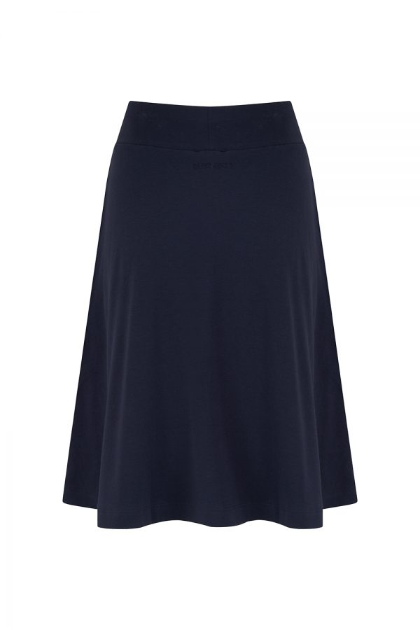 Saint James Goelette Women's Flared Short Skirt Navy