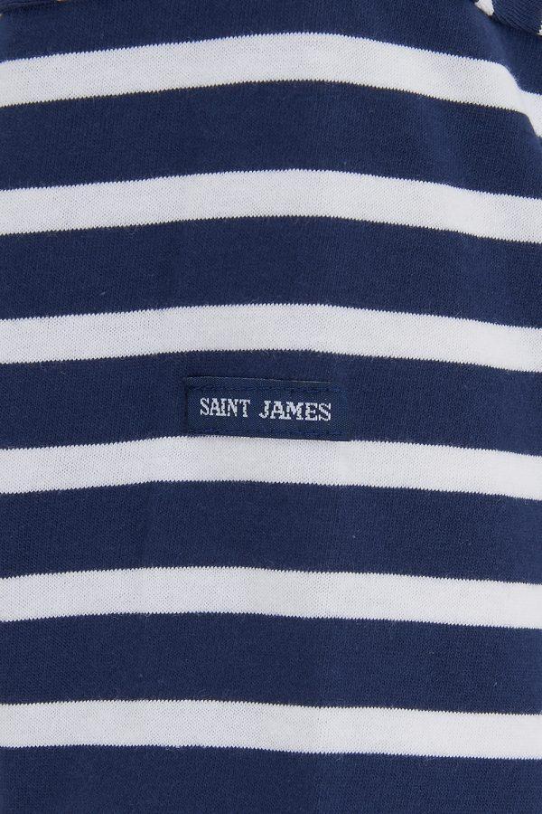 Saint James Minquiers Women's 2-tone Stripe Top Navy/White - New SS21 Collection