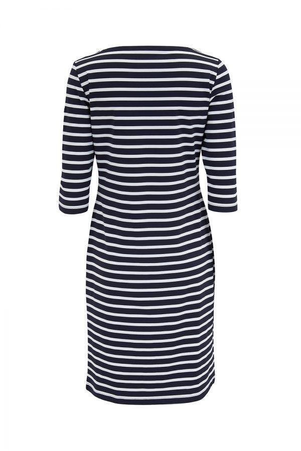 Saint James Propriano II Women's Anti-UV Nautical Dress Navy/White - New SS21 Collection