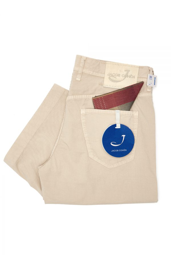 Jacob Cohën J6636 Men's Bermuda Shorts Beige - New SS21 Collection