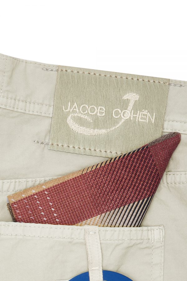 JACOB COHËN J6636 MEN'S SMART CHINO SHORTS GREY – NEW SS21 COLLECTION