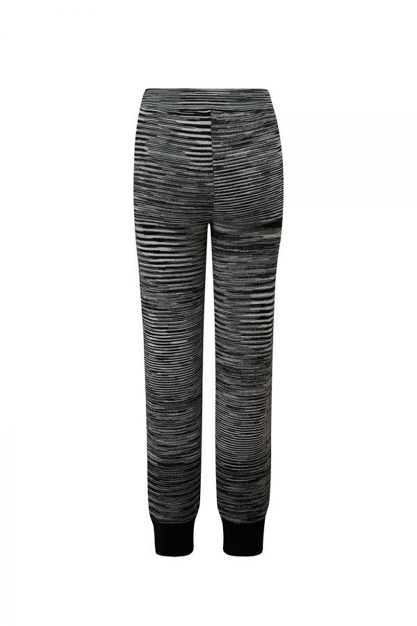 Missoni Women's Striped Slim-fit Joggers Black - New W21 Collection