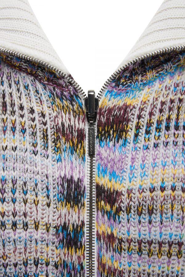 Missoni Women's Cashmere-blend Striped Cardigan Multicolours - New W21 Collection