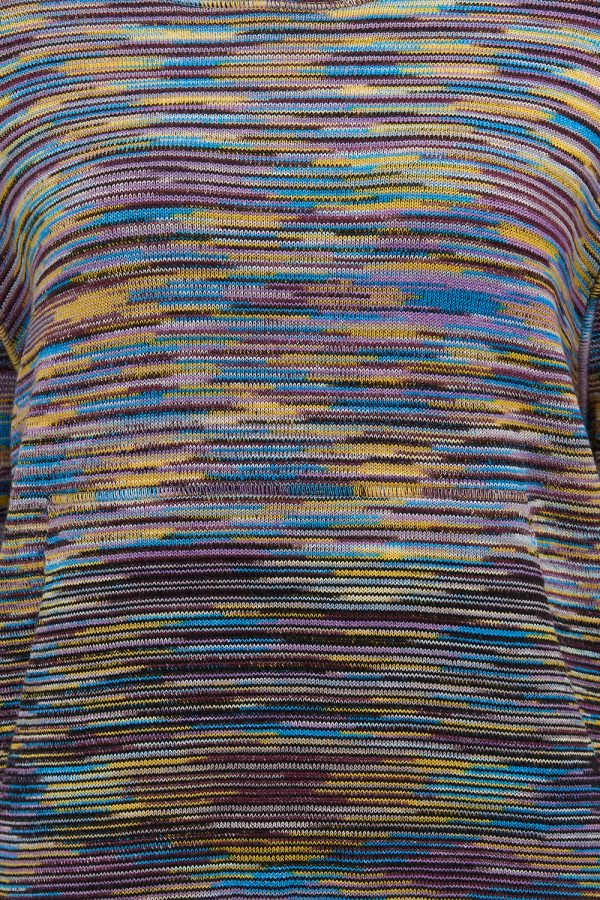 Missoni Women's Space-dye Knitted Hoodie Multicolours - New W21 Collection
