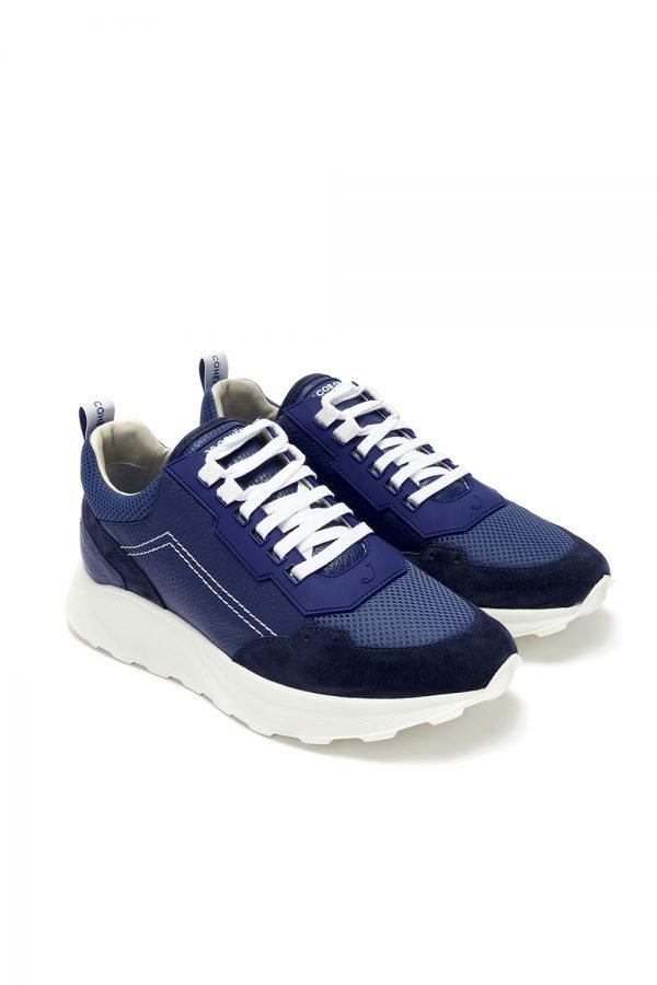 Jacob Cohën New Spiridon Men's Sneakers Blue - New W21 Collection