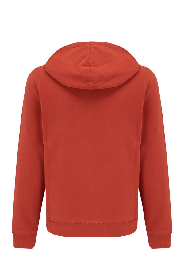 Belstaff Men's Zipped Cotton Hoodie Red - New W21 Collection