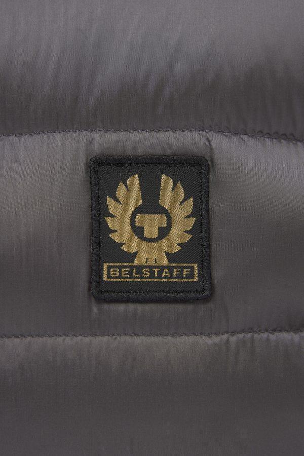 Belstaff Circuit Men's Down Gilet Grey - New W21 Collection