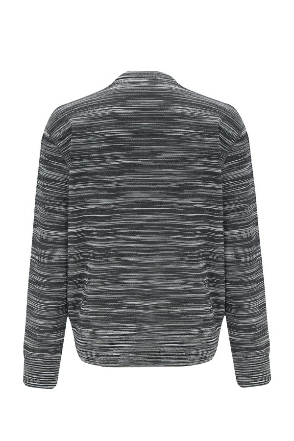 Missoni Men's Space-dyed Cotton Sweater Black - New W21 Collection