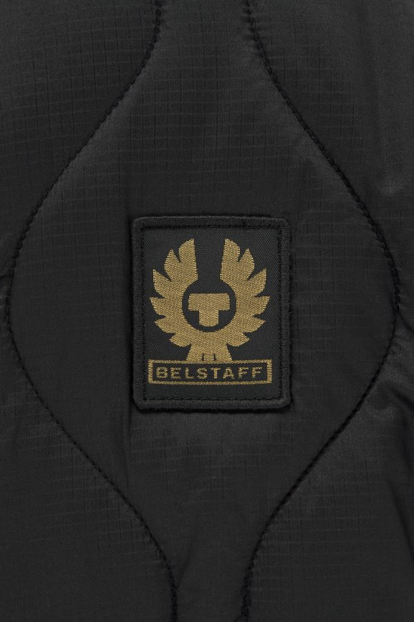 Belstaff Wayfare Men's Quilted Shell Jacket Black - New W21 Collection