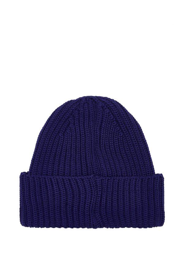C.P. Company Men's Lens Beanie Hat Purple - New W21 Collection